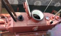 Doanh nhân Thái Bình thử nghiệm thành công tàu ngầm