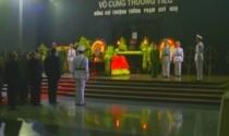 Đang cử hành lễ tang Thượng tướng Phạm Quý Ngọ