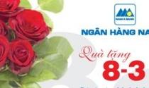 NAM A BANK tặng quà tri ân khách hàng nữ