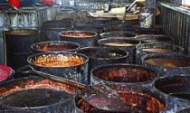 Thu hồi sản phẩm chứa dầu ăn bẩn tại Việt Nam