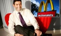 CEO mới của McDonald và bài toán