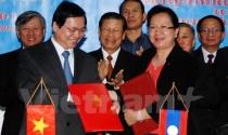 Việt Nam-Lào ký BTA: Xóa bỏ thuế cho hơn 95% mặt hàng
