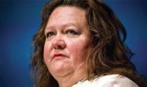"""""""Nữ hoàng quặng sắt"""" Gina Rinehart đối mặt với khủng hoảng giá quặng"""