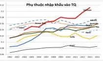 Việt Nam lệ thuộc hàng hóa Trung Quốc nhiều nhất Đông Nam Á