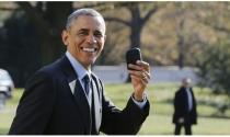 Hãy nghe Obama nhận xét về chiếc điện thoại BlackBerry