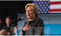 Bầu cử Mỹ: Bà Hillary Clinton tiếp tục dẫn điểm ông Donald Trump