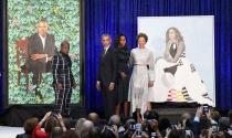 Chân dung Michelle Obama - tranh vẽ Đệ nhất Phu nhân Mỹ được yêu thích nhất