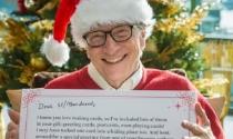 Quà Giáng sinh khi Bill Gates làm ông già Noel