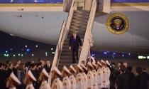 Vừa đến Hà Nội, ông Trump đăng tweet cảm ơn Việt Nam