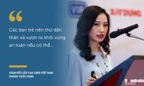 """""""Nữ tướng"""" CBRE Dương Thùy Dung và những lời khuyên dành cho giới trẻ"""