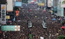 2 triệu người Hồng Kông biểu tình đòi xóa dự luật dẫn độ
