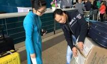 Khách đi máy bay Vietnam Airlines sẽ gửi hành lý theo kiện