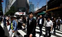 Nhật Bản tăng trưởng chậm nhất một năm