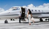 Đẳng cấp sang chảnh khi đi máy bay của giới siêu giàu