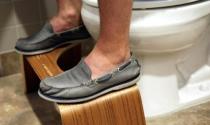 Thành triệu phú nhờ ghế kê chân trong toilet