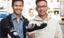 Hai du học sinh Việt thành công với giày làm từ bã cà phê