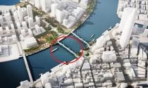 TP.HCM duyệt nhiệm vụ chọn phương án thiết kế kiến trúc cầu đi bộ qua sông Sài Gòn