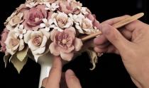 Hoa sứ nghệ thuật giá hàng nghìn đôla