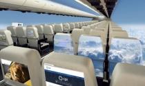 Máy bay không cửa sổ - tương lai của du lịch đường hàng không?