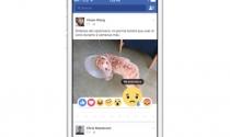 """Facebook thay """"dislike"""" bằng 6 nút """"cảm xúc"""""""
