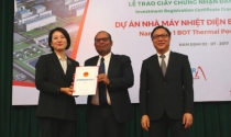 Nam Định trao giấy chứng nhận đầu tư dự án nhiệt điện 2 tỷ USD