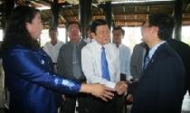 Ông Trương Tấn Sang thăm dự án Happyland VN