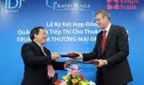 Knight Frank ký kết quản lý, tiếp thị TTTM Grand Plaza
