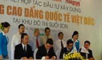 Xây dựng Trường Cao đẳng Quốc Tế Việt Đức tại Khu đô thị Suối Son