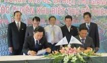 Đất Xanh: Ký kết hợp đồng phân phối độc quyền dự án Hồ Thiên Nga