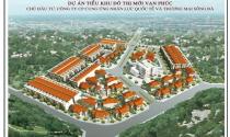 Chào bán 26 căn liền kề, biệt thự Tiểu khu đô thị mới Vạn Phúc