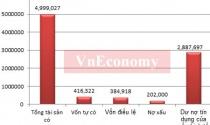 """""""Sức khỏe"""" ngân hàng Việt Nam qua các con số mới nhất"""