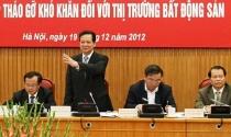 Năm 2012: Chính sách bất động sản đảo chiều