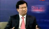 Bộ trưởng Trịnh Đình Dũng nói về vấn đề hỗ trợ thị trường bất động sản