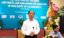 Thứ trưởng Bộ Xây dựng Nguyễn Trần Nam: Căn hộ nhỏ là phù hợp thực tế
