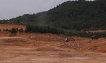 Tại phường Thủy Dương (Hương Thủy, Thừa Thiên- Huế): Chưa được cấp phép đã thi công sân golf