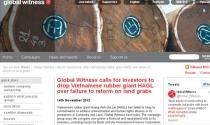 """Global Witness tiếp tục """"gây sự"""" với Hoàng Anh Gia Lai"""