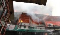 Hà Nội: Cháy lớn tại khu tập thể Nam Đồng