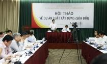 Lấy ý kiến xây dựng Luật Xây dựng (sửa đổi) tại TP HCM