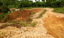 Thi công hầm đường bộ Phước Tượng (TT - Huế): Khai thác đất trái phép