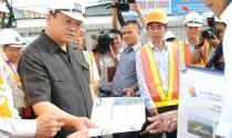 Phó thủ tướng Hoàng Trung Hải kiểm tra tiến độ thi công tuyến metro Bến Thành- Suối Tiên