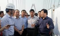 Bộ trưởng Bộ Xây dựng kiểm tra 3 công trình trọng điểm Hà Nội