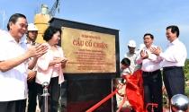 Thủ tướng cắt băng khánh thành cầu Cổ Chiên nối Bến Tre-Trà Vinh