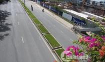 Nứt, lún đường Võ Văn Kiệt chưa sửa, công trình City Gate Towers tiếp tục thi công
