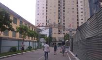 Cưỡng chế vi phạm trật tự xây dựng tại chung cư 250 Minh Khai