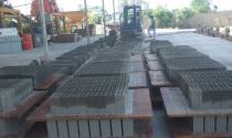 Sản xuất gạch xây không nung ở Quảng Trị: Những bước đi đầu đầy khó khăn