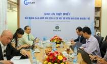 Giao lưu trực tuyến: BĐS Nam Sài Gòn và cơ hội sở hữu nhà cho người trẻ