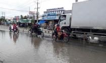 Làm đường không cống thoát nước, khu dân cư ngập úng