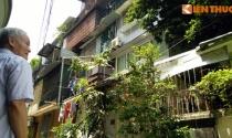 Hàng trăm người dân Hà Nội lo sợ sống trong khu nhà xuống cấp