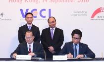 Việt Nam-Hong Kong ký thỏa thuận hợp tác gần 10 tỷ USD