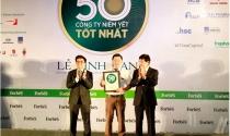 """Đất Xanh đạt """"Top 50 công ty niêm yết tốt nhất Việt Nam"""""""